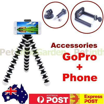 Mini Flexible Octopus Tripod Stand Holder For Phone Digital Camera 2 in 1 Mount