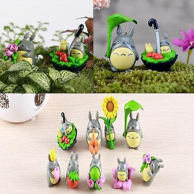 Studio Ghibli My Neighbor Totoro Japanese Cute Anime Figure Dolls Toys 8pcs  TR