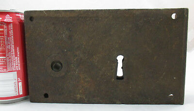 Antique Architectural Fence Gate Iron Mortise Lock