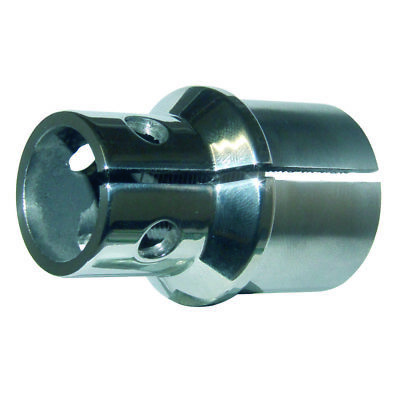 Triumph Fork Stem Nut Nacelle Cei (Late Type) Stainless Steel 97-1141S