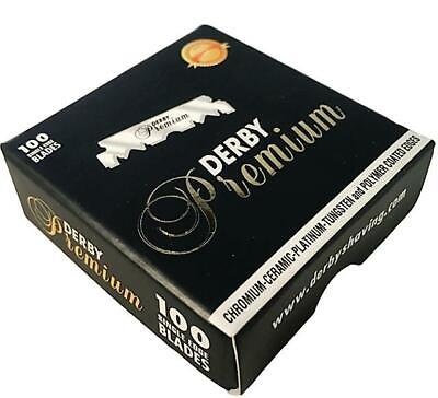 Derby Professional Premium Single Edge Razor Blades For Barber Shavette Razors