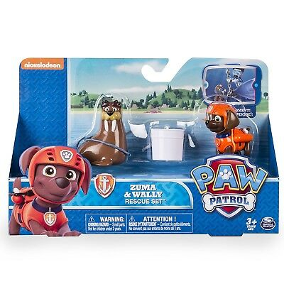 Paw Patrol Zuma & Wally Rescue Set