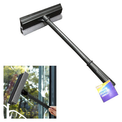 "16"" Window Squeegee Brush Glass Cleaning Sponge Washing Tool Cleaning Brush"