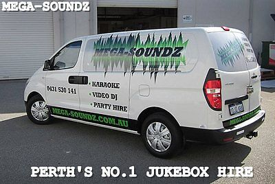 Latest Touch Screen Karaoke Jukebox Machine Hire For The Perth Region.