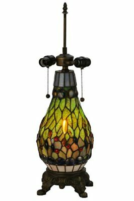 Meyda Tiffany 118847 25.5 in. Tiffany Mosaic Lighted Table Lamp Base