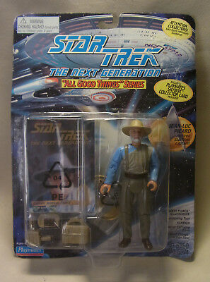 Vintage 90s Action Figur Star Trek the next Generation Jean-Luc Piccard 1995 OVP