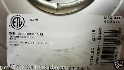 Coleman Cable CCI 55310 18/10C 18 awg 10 Cond Solid Thermostat Cable US /50ft