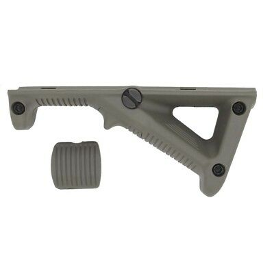 AFG2 PTS Ergonomic Forward Angled Front Grip ForeGrip - OD GREEN