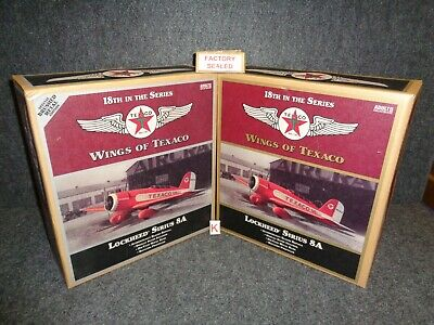2010 Wings of Texaco Airplane #18 REGULAR & SPECIAL EDITION LOCKHEED SIRIUS 8A