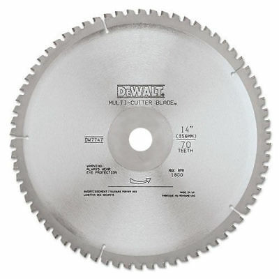 DeWALT DWA7747 14'' 66T Heavy Gauge Ferrous Metal Cutting Saw Blade