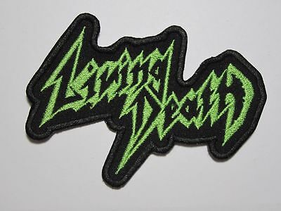 LIVING DEATH logo embroidered NEW patch thrash metal
