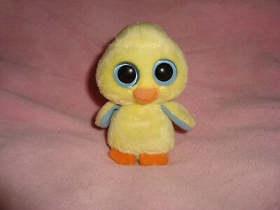 TY Basket Beanies Goldie chick Plush