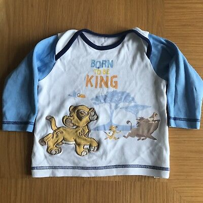 Disney The Lion King Simba, Long Sleeved Top, Size 6-9 Months