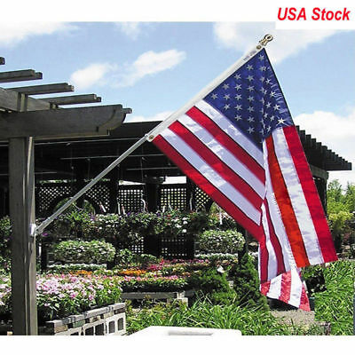 3'x 5' FT US U.S FLAG USA American Stars Sewn Stripes United States Polyester