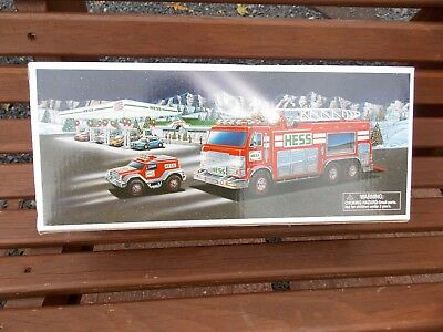 2005 Hess Emergency Truck w/ Rescue Vehicle NEW IN THE BOX ******