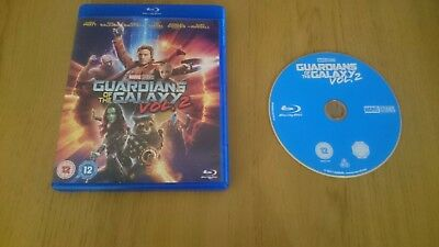 Guardians of the Galaxy vol 2 blu-ray mint condition marvel dvd superhero