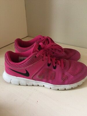 Nike Free Run Size 1 Youth Girls Shoes Pink