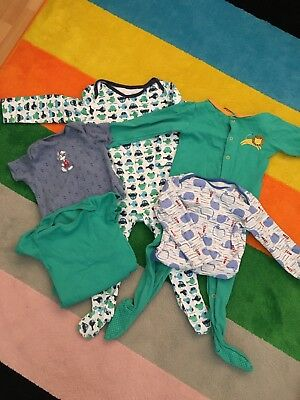 Baby Boy Sleepsuit And Bodysuit Bundle 12-18 Months