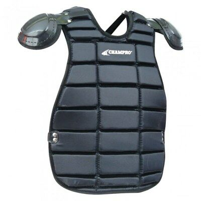Champro Umpire Inside Chest Protector - Black - NEW