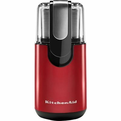KitchenAid Electric Blade Coffee Bean/Spice Grinder Stainless Blade - Empire Red