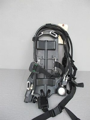 MSA AirHawk MMR SCBA Backpack Harness w/Regulator # 10037276 FireHawk