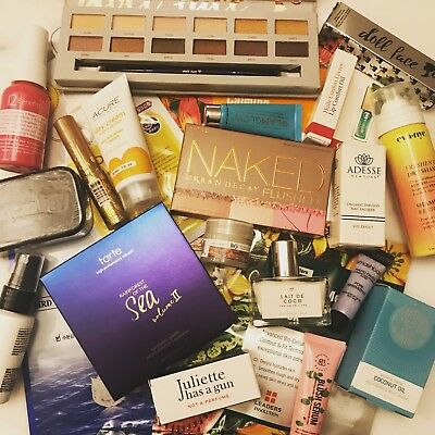 MIXED LOT FIFTEEN (15) MAKEUP COSMETICS BEAUTY SKINCARE FULL SZ Mix Brands -NEW