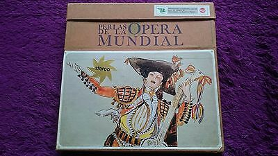 Perlas de la Ópera Mundial , 10 × Vinyl, LP, Box Set , 1967 , Spain