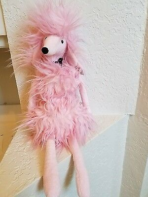 Jellycat  Pink PARIS POODLE Very Rare & Retired Large