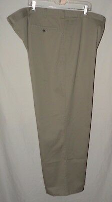 St Johns Bay Relaxed Fit Khaki Docker Style Pant Plus Size 6X 30 unisex 54 X 30