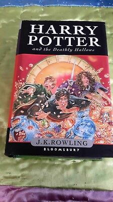 HARRY POTTER and the Deathly Hollows...Hardcover and Dust Jacket...2007...607 pg