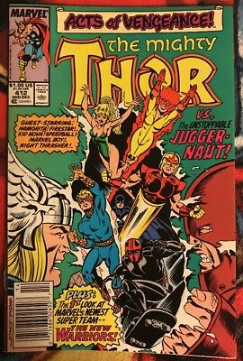 Marvel THOR 412 FN ***$3.98 UNLIMITED SHIPPING***