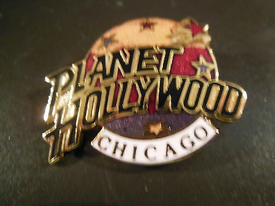 Planet Hollywood CHICAGO TRI-COLOR Logo Pin