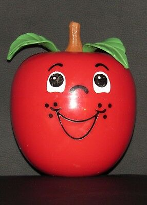 VINTAGE 1972 Fisher Price HAPPY APPLE CHIME TOY #435 HARD TO FIND!