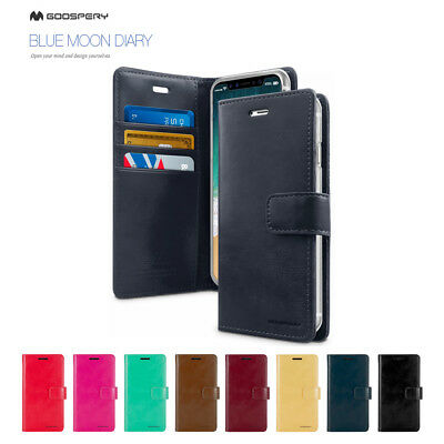 For iPhone X XS Apple Goospery PU Leather Wallet CARD Flip Stand Case Cover