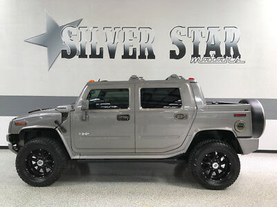 2008 Hummer H2  2008 H2 SUT 4WD V8 Premium Loaded Sunroof Leather SUV TRUCK GPS TX!