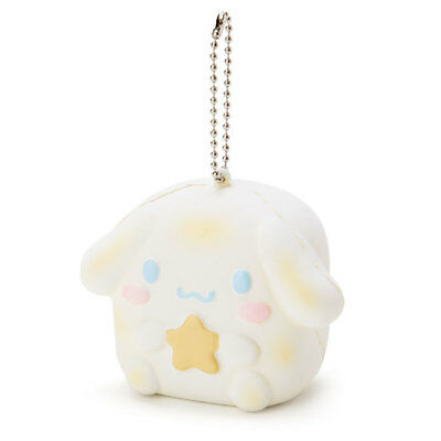 New Sanrio Cinnamoroll Mochi-Mochi Squeeze Bread Keychain Toy Plush Doll Japan