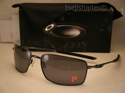 66b609a7a0 Oakley Square Wire Carbon w Grey Polar Lens NEW Sunglasses (oo4075-04)