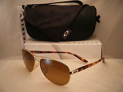 Oakley Feedback Polish Gold w Brown Gradient Polar Lens (oo4079-11)