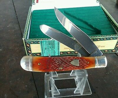 vintage USA made Schrade Walden pocket knife  new in display box Collectors Item