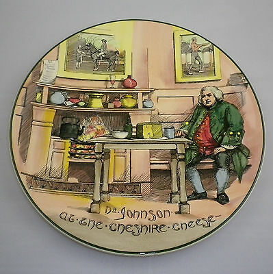 "HUGE Royal Doulton Series Ware "" DR JOHNSON AT THE CHESHIRE CHEESE ""   CHARGER"
