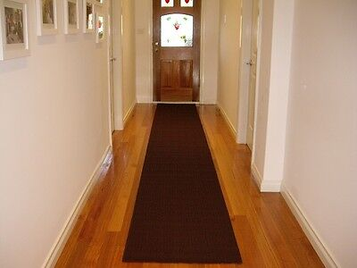 Hallway Runner Hall Runner Rug Modern Brown 4 Metres Long