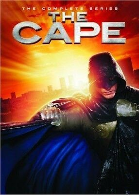 The Cape The Complete Series  (DVD, 2011, 2-Disc Set)  Brand New