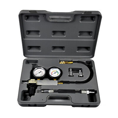 Vehicle Cylinder leak down tester leakage detector kit set Auto Repair Tool