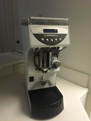 Nuova Simonelli Mythos One Clima Pro Espresso Grinder - Custom White Powdercoat