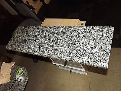 Granite step 820x250x30mm Door threshold front half bullnose(can be cut to size)