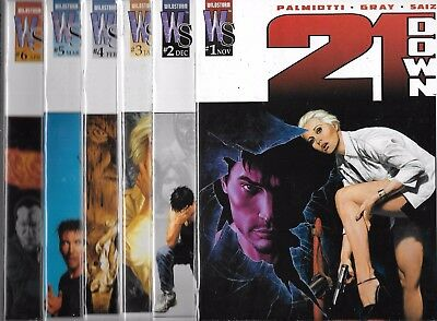 21 Down Lot Of 6 - #1 #2 #3 #4 #5 #6 (Nm-) Palmiotti, Image Comics