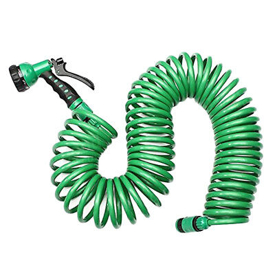 Household Retractable with 7 Pattern Spray Nozzle Car Wash Garden Water Hose Kit