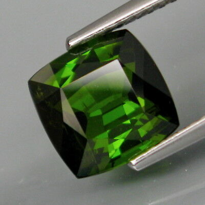 2.78Ct.Good Color Natural Top Green Tourmaline Mozambique Full Fire&Nice Shape!