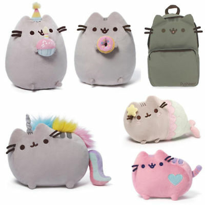 "10"" Pusheen the Cat Stuffed Plush Animals Soft Toys Pillow Christmas Gift Kids"