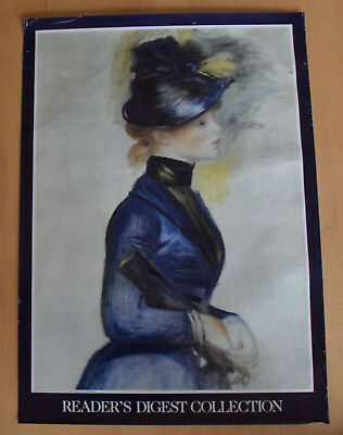 Pierre Auguste Renoir Young Woman in Blue Going to the Conservatory Poster 67x50